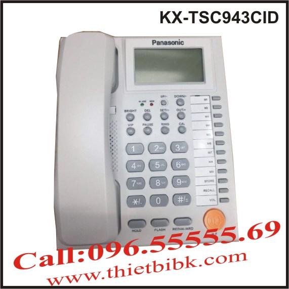 Điện thoại để bàn Panasonic KX-TSC943CID