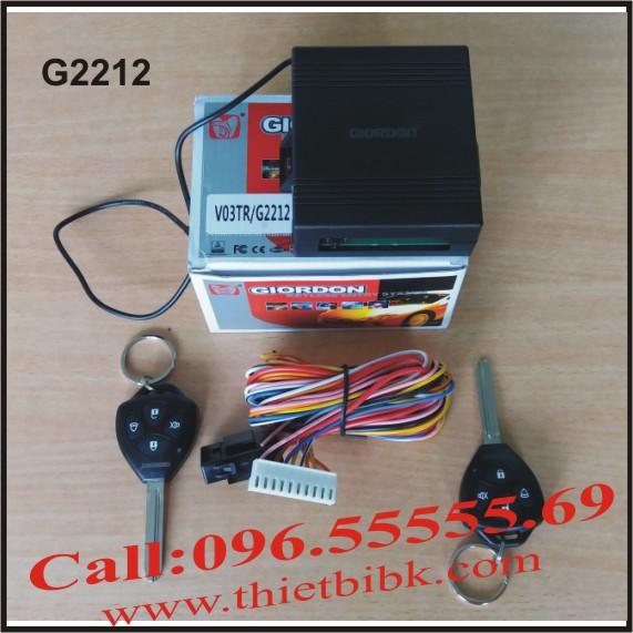 Bộ điều khiển khóa cửa ô tô Giordon 2212