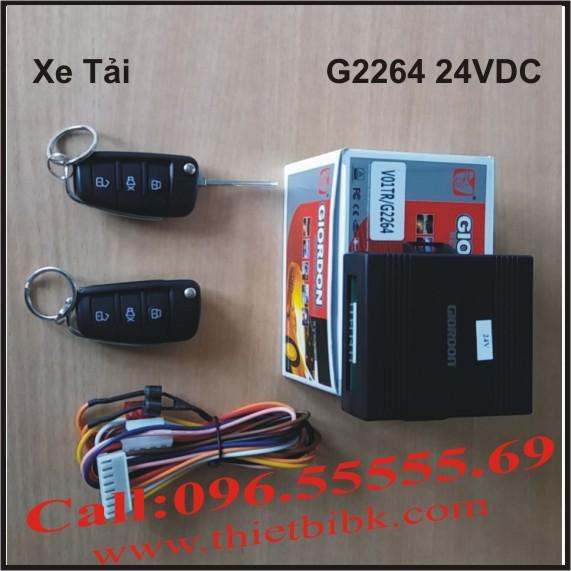Bộ điều khiển khóa cửa ô tô Giordon 2264 24VDC