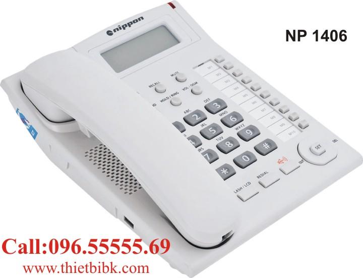 Điện thoại để bàn NIPPON NP 1406 dùng cho văn phòng công ty