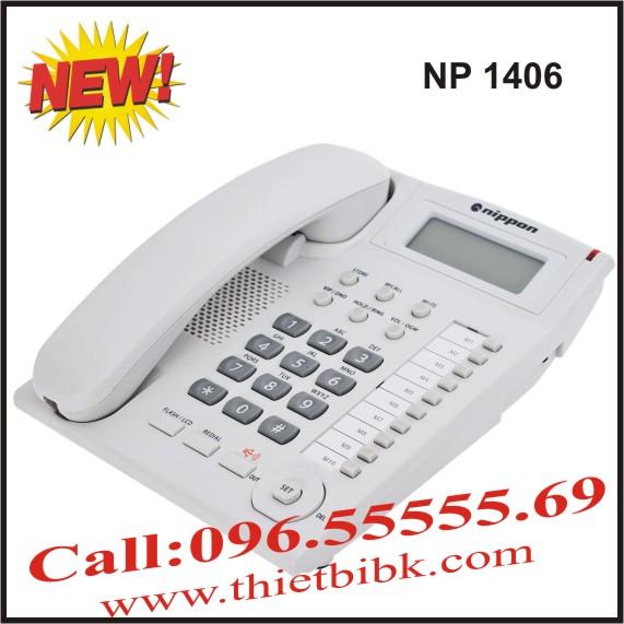Điện thoại để bàn NIPPON NP 1406