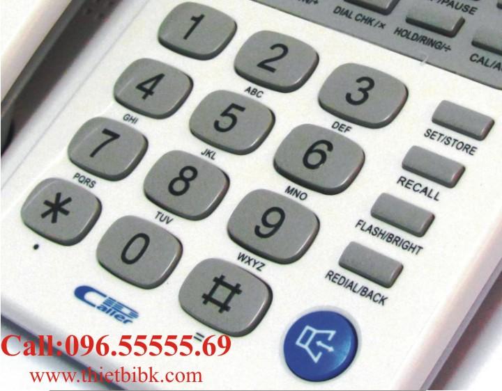 Điện thoại để bàn Panasonic KX-TSC92CID có bàn phím lớn