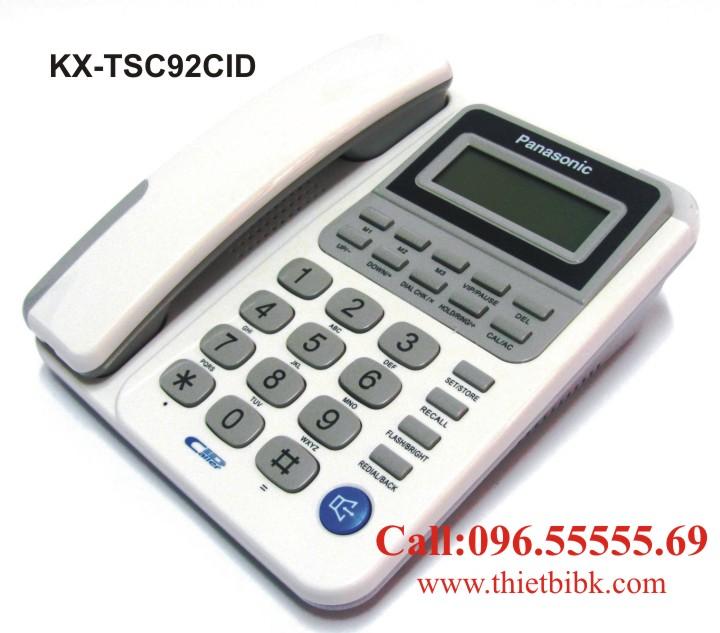 Điện thoại để bàn Panasonic KX-TSC92CID dùng cho gia đình