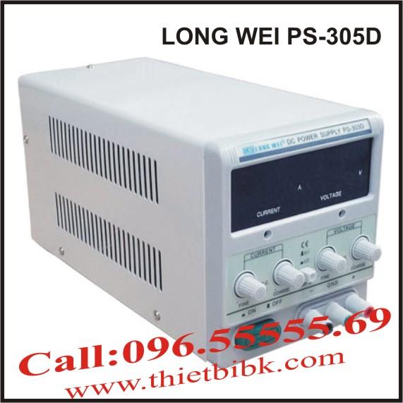 Bộ cấp nguồn DC 30V 5A LONG WEI PS-305D