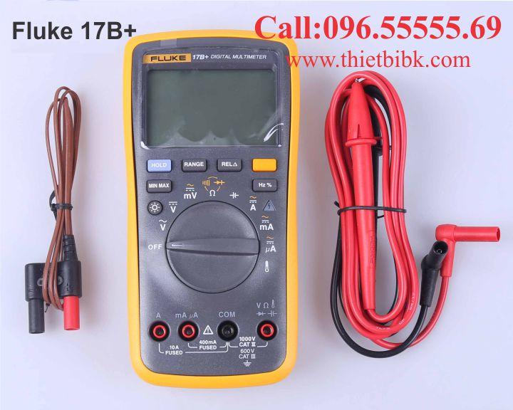 Đồng hồ vạn năng hiển thị số Fluke 17B plus 4000V 10A dùng cho thợ sửa chữa điện tử
