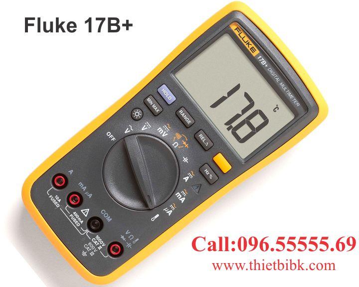 Đồng hồ vạn năng hiển thị số Fluke 17B plus 4000V 10A dùng trong lĩnh vực điện điện tử