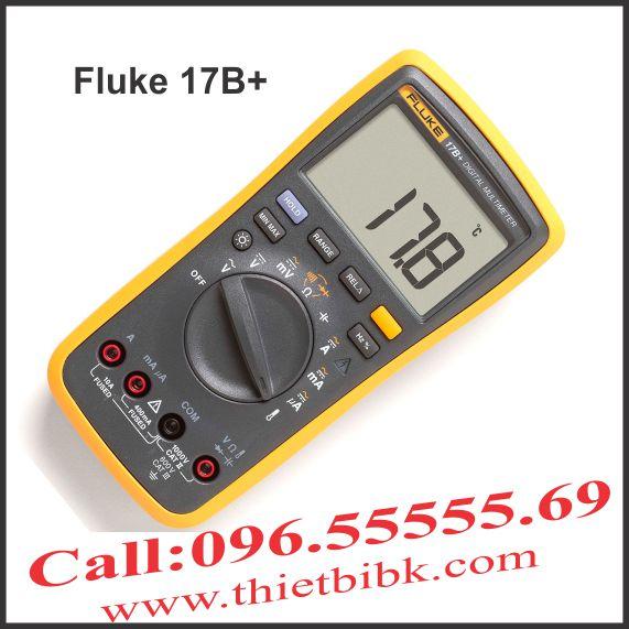 Đồng hồ vạn năng hiển thị số Fluke 17B plus 4000V 10A