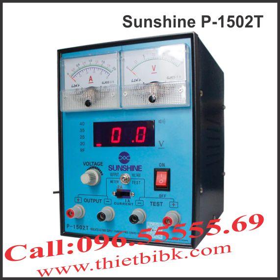 Máy cấp nguồn và báo sóng 2A Sunshine P-1502T