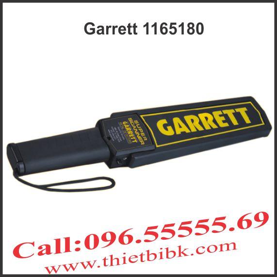 Máy dò kim loại cầm tay Garrett 1165180 standard