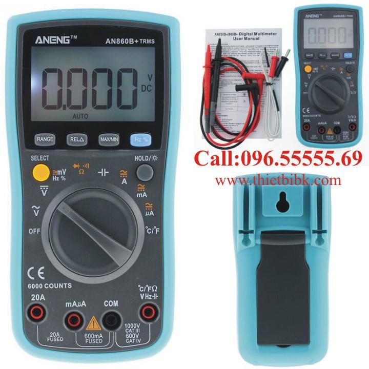 Đồng hồ vạn năng hiển thị số Aneng ANG860B plus cho thợ sửa chữa điện tử