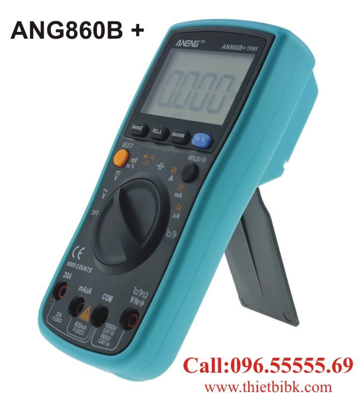 Đồng hồ vạn năng hiển thị số Aneng ANG860B plus dùng cho dây truyền sản xuất điện tử