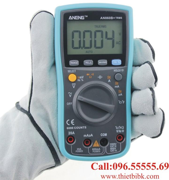 Đồng hồ vạn năng hiển thị số Aneng ANG860B plus