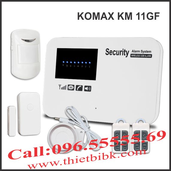 Thiết bị báo động dùng sim KOMAX KM 11GF