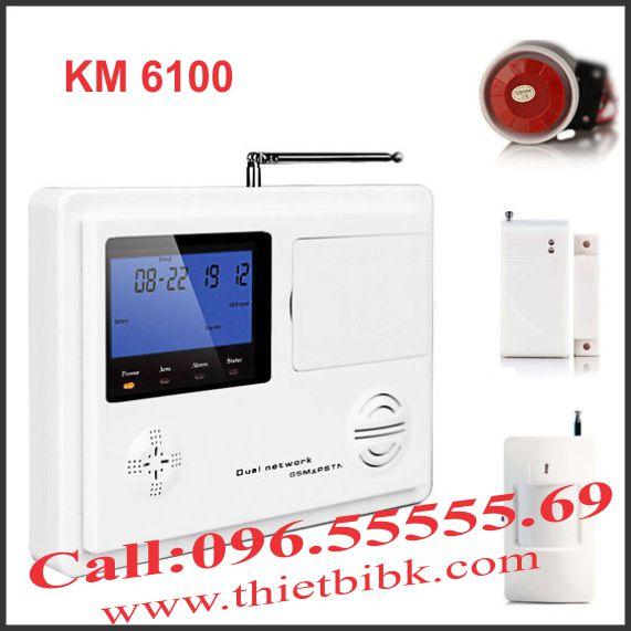 Thiết bị báo động dùng sim KOMAX KM 6100