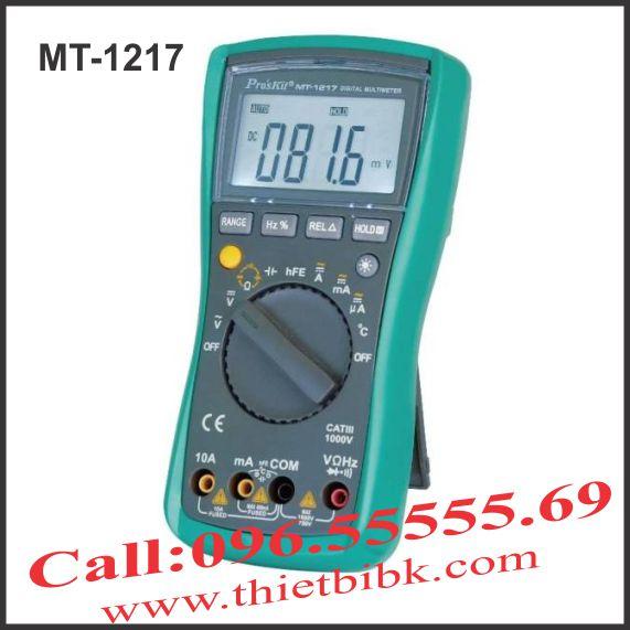 Đồng hồ vạn năng hiển thị số Pro'kit MT-1217