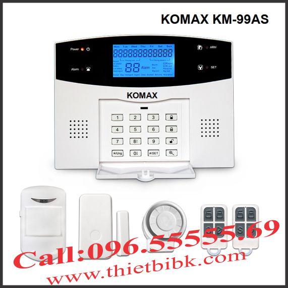 Thiết bị báo động không dây KOMAX KM 99AS