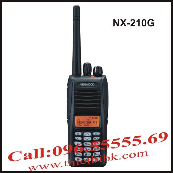 Bộ đàm cầm tay Kenwood NX-210GBộ đàm cầm tay Kenwood NX-210G
