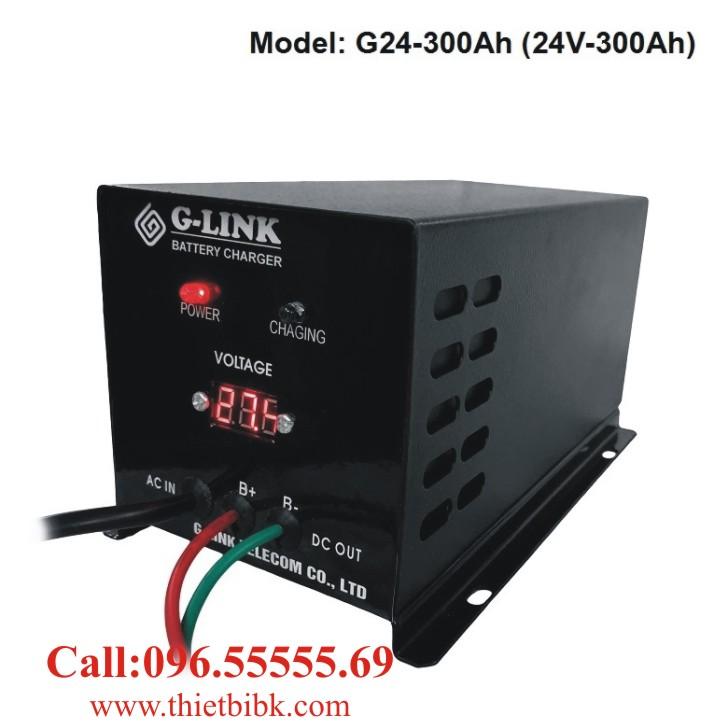 Bộ nạp ắc quy tự động G-LINK G24-300Ah dùng sạc ắc quy xe tải