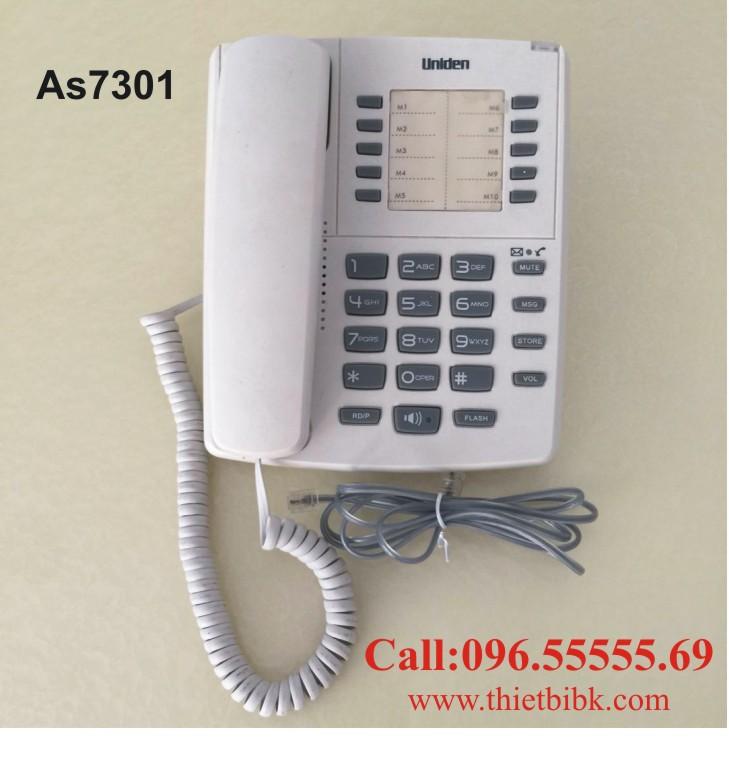 Điện thoại để bàn Uniden AS7301 dùng cho gia đình