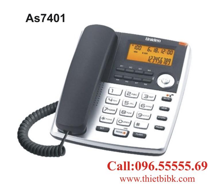 Điện thoại để bàn Uniden AS7401 dùng cho gia đình