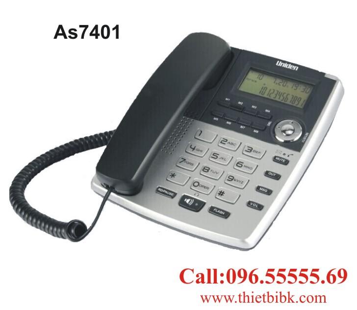 Điện thoại để bàn Uniden AS7401 dùng cho khách sạn