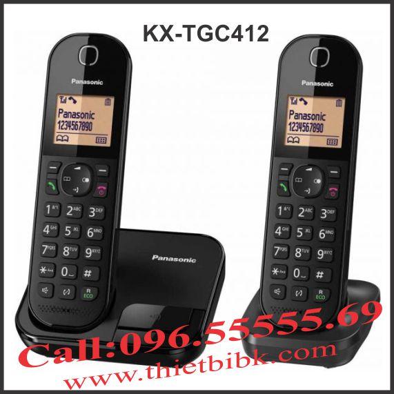 Điện thoại kéo dài Panasonic KX-TGC412