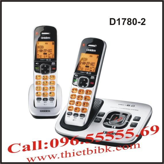 Điện thoại không dây UNIDEN D1780-2