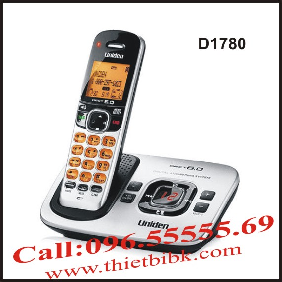 Điện thoại không dây UNIDEN D1780