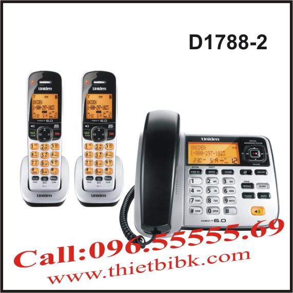 Điện thoại không dây UNIDEN D1788-2