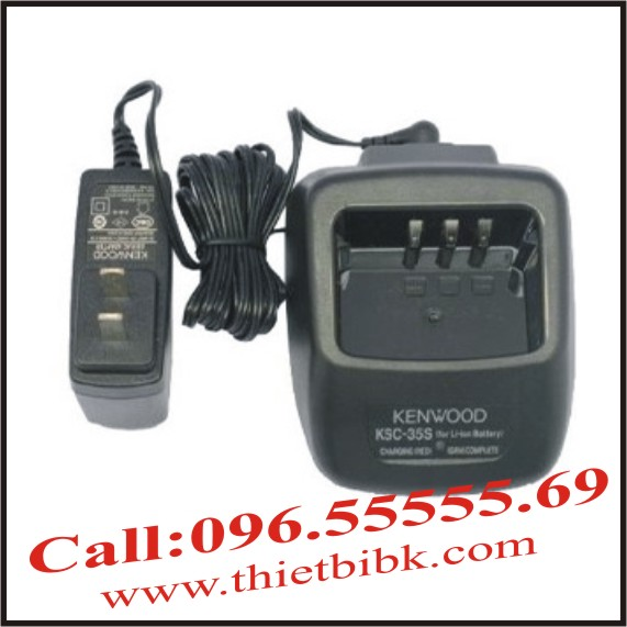 Sạc pin bộ đàm Kenwood TH-K40A