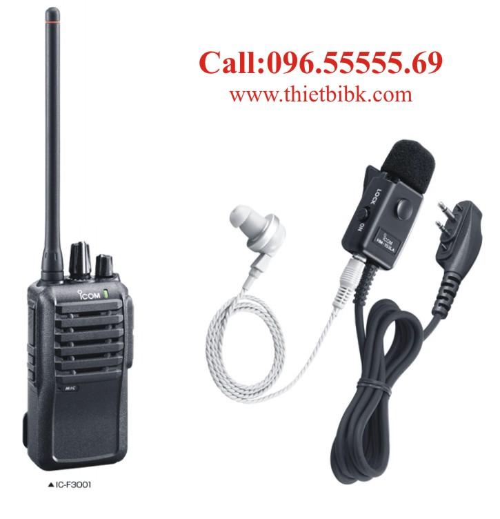 Tai nghe máy bộ đàm ICOM IC-F3001
