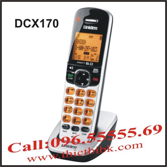 Tay máy điện thoại không dây UNIDEN DCX170
