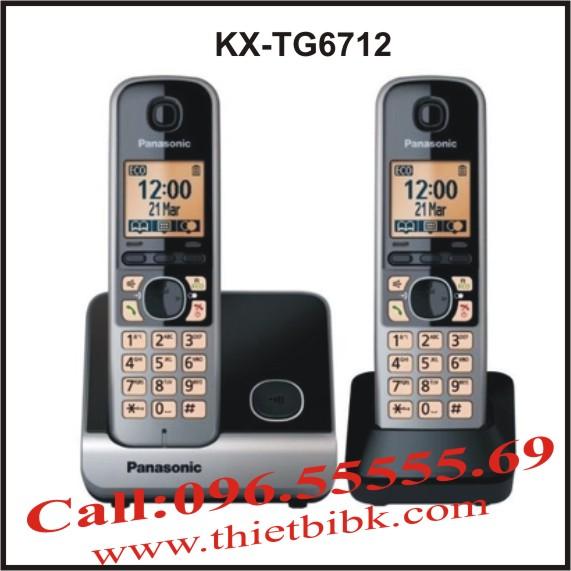 Điện thoại kéo dài Panasonic KX-TG6712