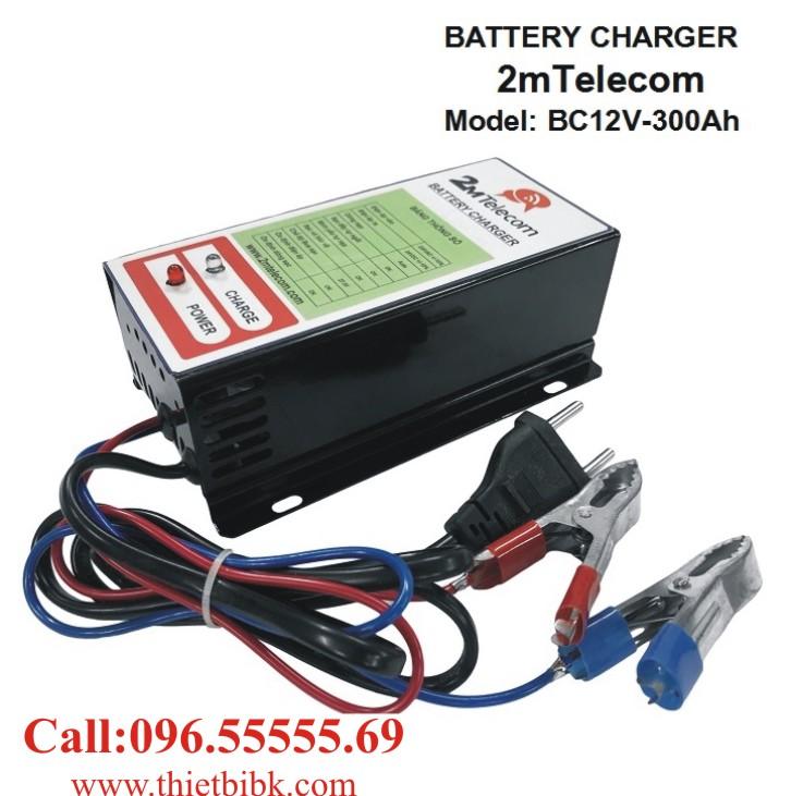 Bộ nạp ắc quy tự động 2mTelecom BC12V-300Ah dùng sạc ắc quy máy phát điện