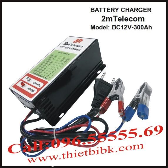 Bộ nạp ắc quy tự động 2mTelecom BC12V-300Ah