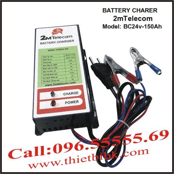 Bộ nạp ắc quy tự động 2mTelecom BC24V-150Ah
