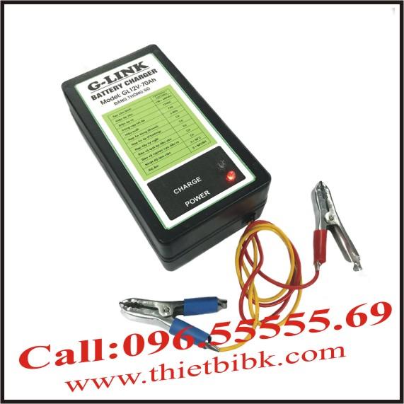 Bộ nạp ắc quy tự động G-LINK GL12V-70Ah
