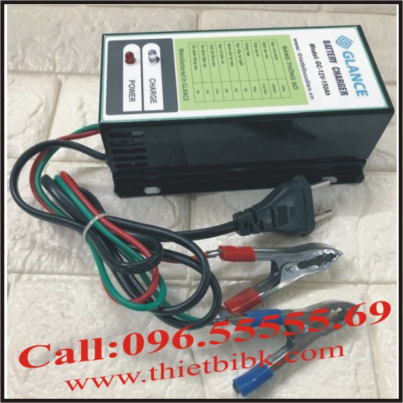 Bộ nạp ắc quy tự động GLANCE GC12V-150Ah