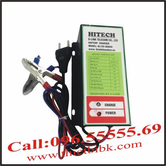 Bộ Sạc ắc quy tự động HITECH GL12V-200Ah