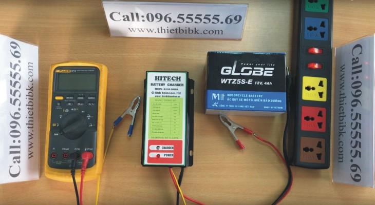 BộSạc ắc quy tự độngHITECHGL24V-200Ah dùng sạc ắc quy máy phát điện