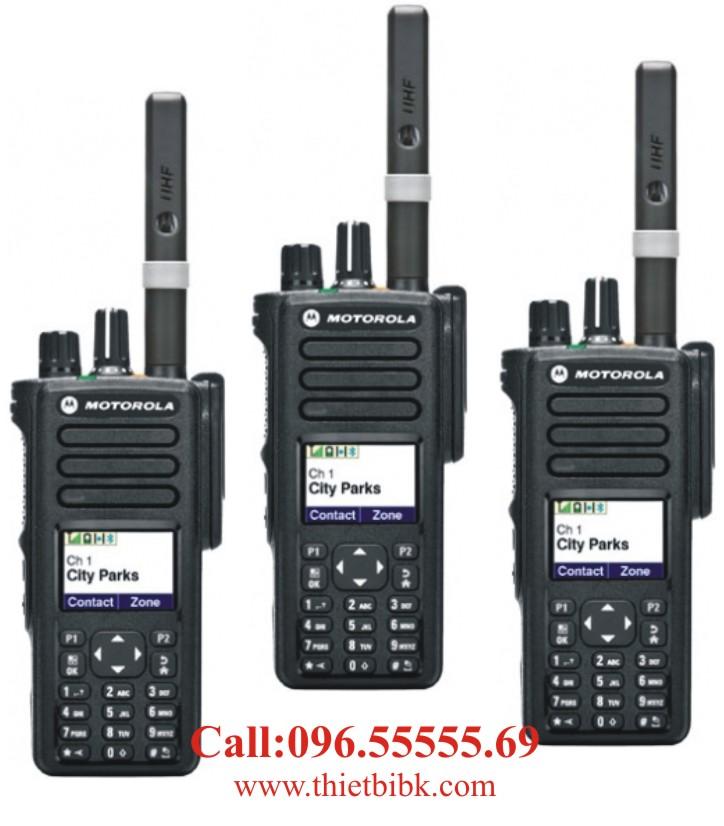 Máy bộ đàm kỹ thuật số Motorola XiR P8660i P8668i dùng trong công nghiệp