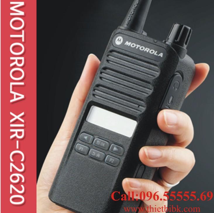 Máy bộ đàm kỹ thuật số Motorola Xir C2620 dùng cho công trường