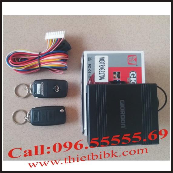 Bộ điều khiển khóa cửa ô tô Giordon 2170A 12v