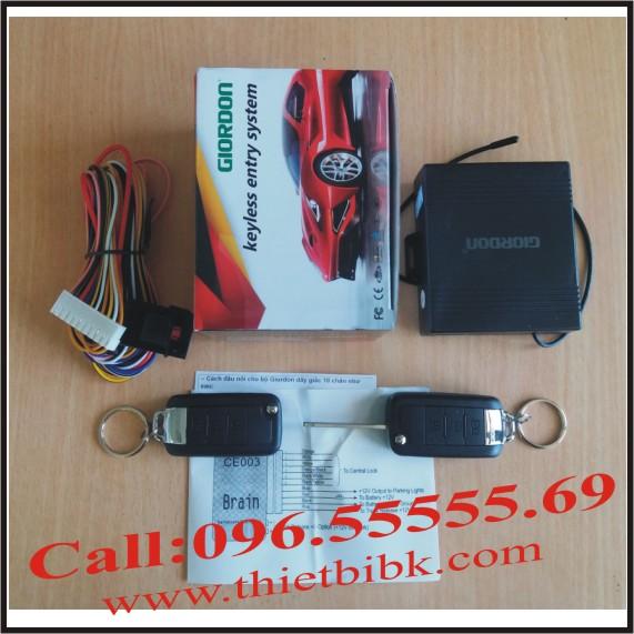 Bộ điều khiển khóa cửa ô tô Giordon 2188 12v
