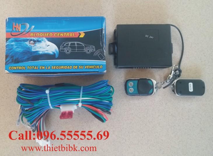 Bộ điều khiển chuột cửa ô tô 5 dây HN 12v 24v dùng cho xe tải