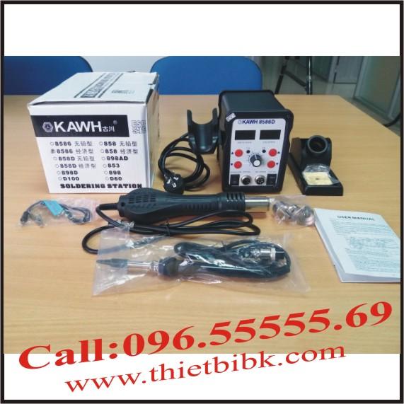 Máy khò và hàn thiếc KAWH SMD 8586D
