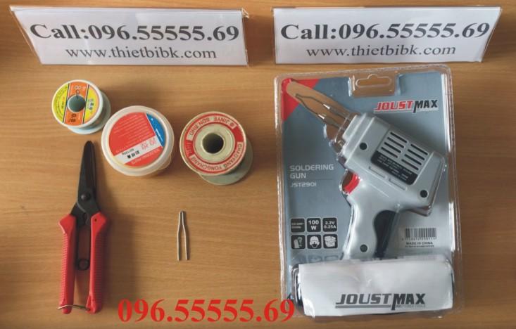 Mỏ hàn xung SOLDERING GUN JOUST MAX 220v 100w dùng cho Thợ sửa chữa điện tử