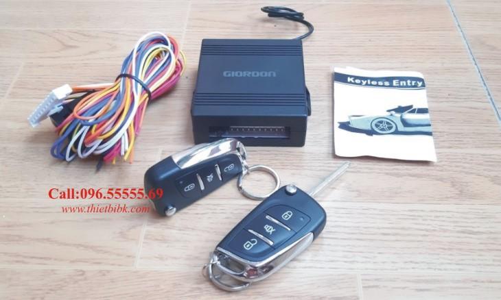 Bộ điều khiển khóa cửa ô tô 12v 10 dây Giordon 6213 lắp cho xe con xe taxi