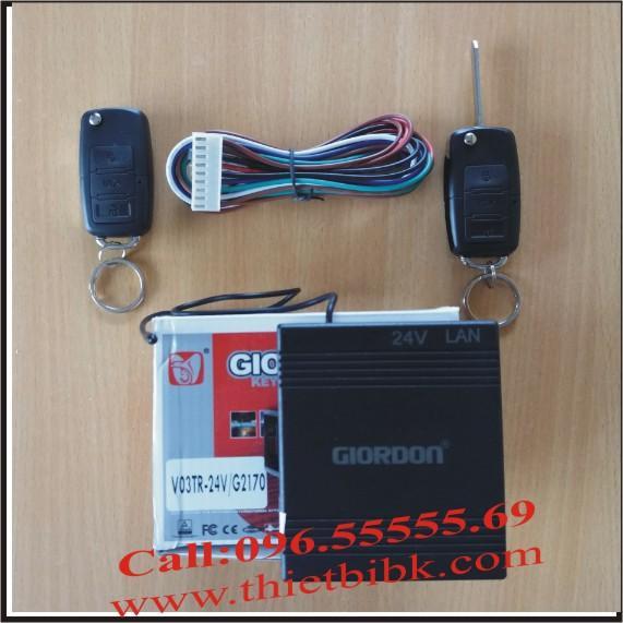 Bộ điều khiển khóa cửa ô tô Giordon 2170 24V 9 dây