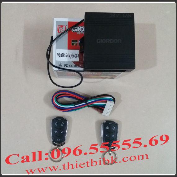 Bộ điều khiển khóa cửa ô tô Giordon 6085 24V 9 dây